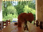 The French Cottages - Outdoor Dining Area