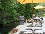 The French Cottages - Barbecue Area