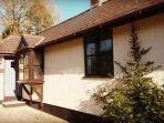 Otter Cottage front entrance