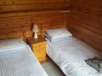 Twin Bedroom in Beech