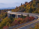 The Blue Ridge Parkway Scenic Drive is only 5 minutes away!