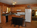 Toccoa Fish Trap_Fully Equipped Kitchen Area_Enchanted Mountain