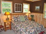 Toccoa Fish Trap_2nd Queen Bedroom_Enchanted Mountain Retreats