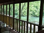 Toccoa Fish Trap_Sleeps 6_Screened Porch_Best Fishing River_Ench
