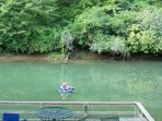 Toccoa Fish Trap_Sleeps 6_Best Fishing River_Enchanted Mountain