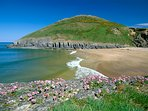 Mwnt beach just 3 miles away
