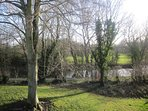 View of Grand Union Canal from bedroom