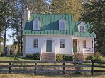 The Hunt Box...Antique filled guest house on our farm in Middleburg Hunt Country