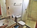 Banheiro dos quartos