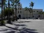 Visit Mission Pilar on the Plaza.
