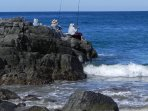 Go surf fishing. Luis can tell you the best places to go.