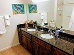 Master Bathroom Granite Counters