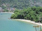 Vista do Mirante das praias da Bexiga e Camorim.