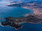 The Riviera coastline