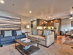 Newly Remodeled Park City All Seasons - Great Room - Living Room, Kitchen and Dining Area