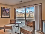 Private Deck with with Amazing Views of the Park City Ski Area