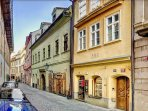 LOCATION! Unesco protected buildings in Jilská. Enjoy short walk to Old Town  Square.