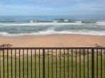 Direct ocean front view.