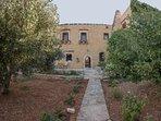 The villa amongst olive grove