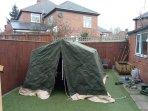 British army 9x9 canvas tent