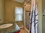 Step into the brand-new walk in shower!