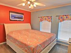 1st floor king size memory foam bedroom with cable tv
