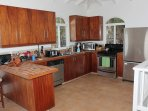 …and a well equipped kitchen