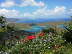 Your view overlooks St John, as well as Tortola, Virgin Gorda and other British Virgin Islands