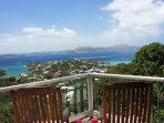 Villa Venturoso has solid bragging rights to one of the most spectacular views in Cruz Bay