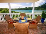 This will become your favorite spot for a morning cup of coffee or an evening meal!