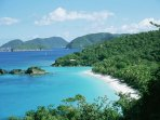 Trunk Bay is one of the most photographed beaches on St John….it's time to go for a swim!