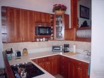 The completely remodeled kitchen – a great spot to prepare a meal!