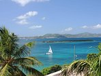 A great place to relax, enjoy the view and watch the sailboats glide by