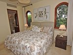 Unit Two – Both bedrooms have king beds and are casually elegant