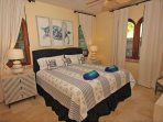Unit One also has a charming sea turtle bedroom