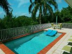 Your pool and sundeck….it's time to go for a swim!
