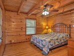 With a large dresser and queen bed, this room is perfect for couples.