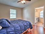 Retreat to one of the 3 bedrooms sleeping up to 9 guests.