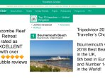 Bournemouth is UK's 2018 best beach
