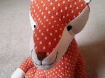 Foxy doorstop - fun on the floor
