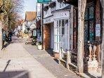 Henley in Arden's lovely High Street