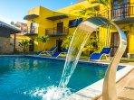 Atlântica apartamentos ideal para famílias e grupos de pessoas.
