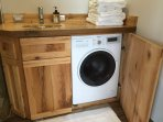Included laundry facilities.  Unit is both washer and dryer.