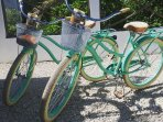 Cool beach bikes for rent that can be your main mode of transportation in our little beach side town