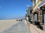 Along Newport's Boardwalk