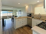 Full Kitchen is Open to Living and Dining Areas