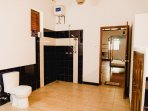 Our Master Bathroom with Hot Water Shower.