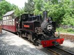 Enjoy the delights of the Ffestiniog steam railway. The station is only five minutes walk away!