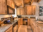 Family kitchen to cook feasts