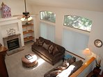 Lots of room in this large living area